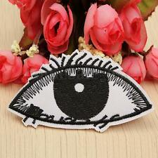 Cute Black Eye Patch Embroidered Punk Iron On Sew On Patches DIY Cloth Fabric