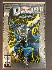 RARE 1993 Marvel Doom 2099 #1 Foil Cover...Nice UNREAD! VF-NM