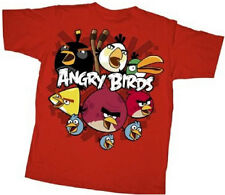Official Angry Birds So Angry Youth T-shirt - iphone Video Game Movie Rovio Tee