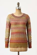 NEW Anthropologie Charlie & Robin Sun-Marled Pullover Sweater Size XL