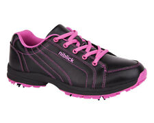 Niblick Ladies Golf Shoes Virginia Black/Pink NIBLICK