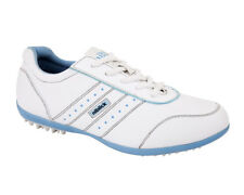 Niblick Ladies Golf Shoes Leonay White/Sky Blue NIBLICK