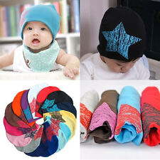 Baby Kid Cotton Beanie Soft Girl Boy Knit Hat Toddler Infant Crochet Newborn Cap