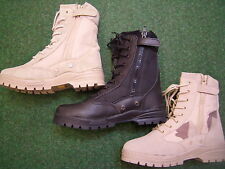 New Combat Boots Patriot Beige Black Bw Boots Outdoor Boots Work Shoes