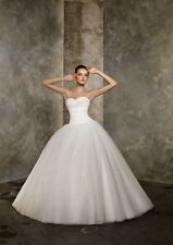 New White Bridal Gown Prom Ball Evening Wedding Dress Quinceanera Party Custom