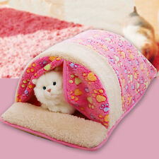New Dog Cat Bed Sofa Soft Warm Pet Beds Cushion House Puppy Sleeping Bag