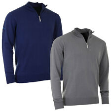 Callaway Golf Mens Merino Wool 1/4 Zip Sweater Easy Care Pullover