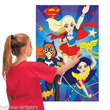 DC Super Hero Girls Supergirl Batgirl Place The Logo Children's Party Game