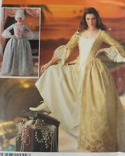 Centennial Colonial Historical Reenactment Gown Simplicity 4092 Costume Pattern