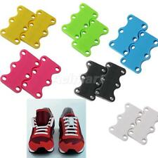 Footful Lazy Magnetic Casual Sneaker Shoe Buckles Closure No-Tie Shoelace