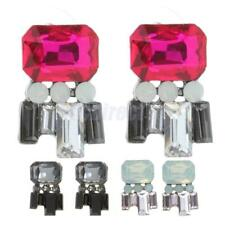 Women Cocktail Party Vintage Style Fashion Rhinestone Dangle Stud Earrings