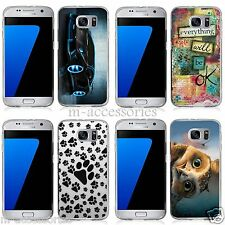 Silicone Gel Case Cover Skin For Samsung Galaxy S7 SM-G930 G930F Mobile Phone