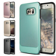 Hybrid Shockproof Rugged TPU PC Hard Case Cover For Samsung Galaxy S6 S7 Edge