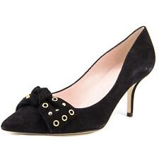 Kate Spade Justine Women  Pointed Toe Suede Black Heels