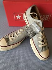 Converse Chuck Taylor 1970s Ox Premium Leather White Mens Size 6,7 New In Box