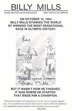 Olympian Billy Mills- Signed Photograph