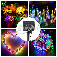 Solar/Battery LED String Fairy Light Xmas Christmas Wedding Party Home Decor