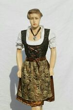 3pcs German Dirndl Dress Oktoberfest Costume size 34 to 44 FREE SHIPPING