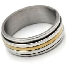 Stainless Steel Ring No Stone Mens Womens Band Ring Mens Size 7 8 10 11 12