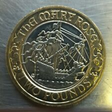 2011 Mary Rose 2 pound coin