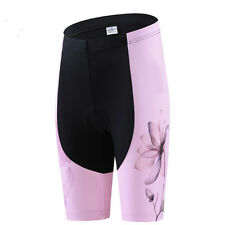 Pink Cycling Short Pants For Womens Bicycle Shorts Mtb Bike Biking Pad Shorts