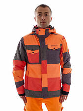 Brunotti Ski Jacket Snowboard Jacket Matiq orange 5K Snow guard Pass pocket
