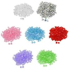 200Pcs/10mm Acrylic Crystal Diamond Table Confetti Scatters Clear Crystal