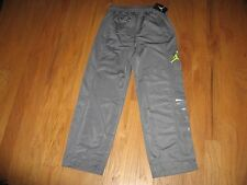 NIKE AIR JORDAN BOYS ATHLETIC PANTS GRAY WITH JUMPMAN SIZE M NWT