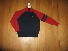 Tommy Hilfiger Boys 1/2 ZIP Sweater Size 5/7 MSRP $44.5 NWT