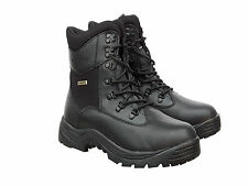 Waterproof Breathable Black Leather Sympatex & Thinsulate Lined Walking Boots