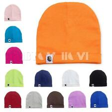 Toddler Newborn Baby Boys Girls Solid Color Sleeping Beanie Hat Warm Infant Caps