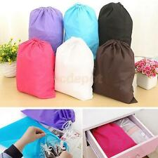 Waterproof Shoe Clothes Storage Drawstring Bag Travel Laundry Pouch Organizer