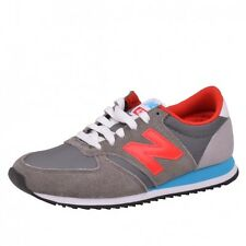 New Balance 420 Runner Trainers Shoes Running Shoes Grey/Red U420SNBR