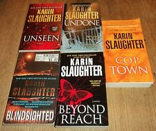 """KARIN SLAUGHTER """"THRILLER"""" PAPERBACK COLLECTION - Lot of 5 - Great Reading!!"""