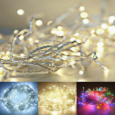 20/30/40 LED Battery Operated Christmas Holiday Wedding Party Decor String Fairy