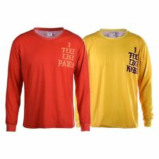 Yeezy Yeezus The Life Of Pablo TLOP I Feel Like Pablo Mens Red Yellow T-Shirt