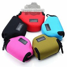 Neoprene Soft Case Bag Pouch For Panasonic LUMIX DMC-GM1 12-32mm Lens Camera