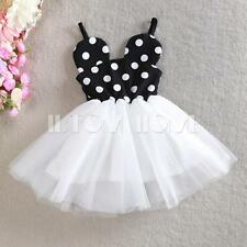 Girls Baby Minnie Mouse Tutu Dress Princess Birthday Party Outfits Kids Clothing