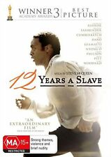 12 Years A Slave - DVD Region 2,4 Brand New Free Shipping