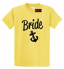 Bride T Shirt Cute Wedding Gift Anchor Tee Bachelorette Party Shirt Marriage