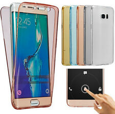 For Samsung Galaxy Note 7/iPhone 7 Crystal Clear Cover Full Body Protective Case