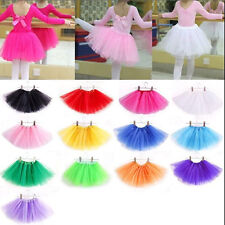 Princess Girls Tutu Dancewear Skirt Dress Up Fancy Party Ballet Dance Pettiskirt