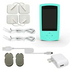 TENS Unit rechargeable Massager Digital Therapy Acupuncture Pads Machine