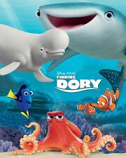 Finding Dory Group Shot Mini Poster 40x50cm