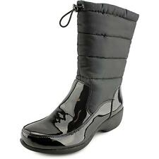 Naturalizer Jude Women  Round Toe Synthetic Black Snow Boot NWOB