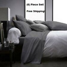 DEEP POCKET HOTEL COLLECTION 6 PIECE BED SHEETS SUPER SOFT SHEET SET ALL SIZES