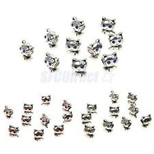 10pcs/Lots Cat Loose Beads Spacer Beads Connector DIY Jewelry Craft Kits