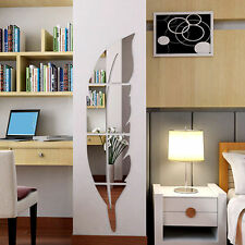 Modern DIY Removable Home Mirror Wall Stickers Decal Art Vinyl Room Home Decor