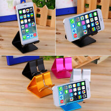 Universal Cell Phone Desk Aluminum Stand Holder For Mobile Phone Tablet PC newPY