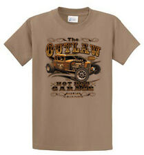 Outlaw Garage Mens Graphic Tee Shirts Reg to Big and Tall Size Port and Company